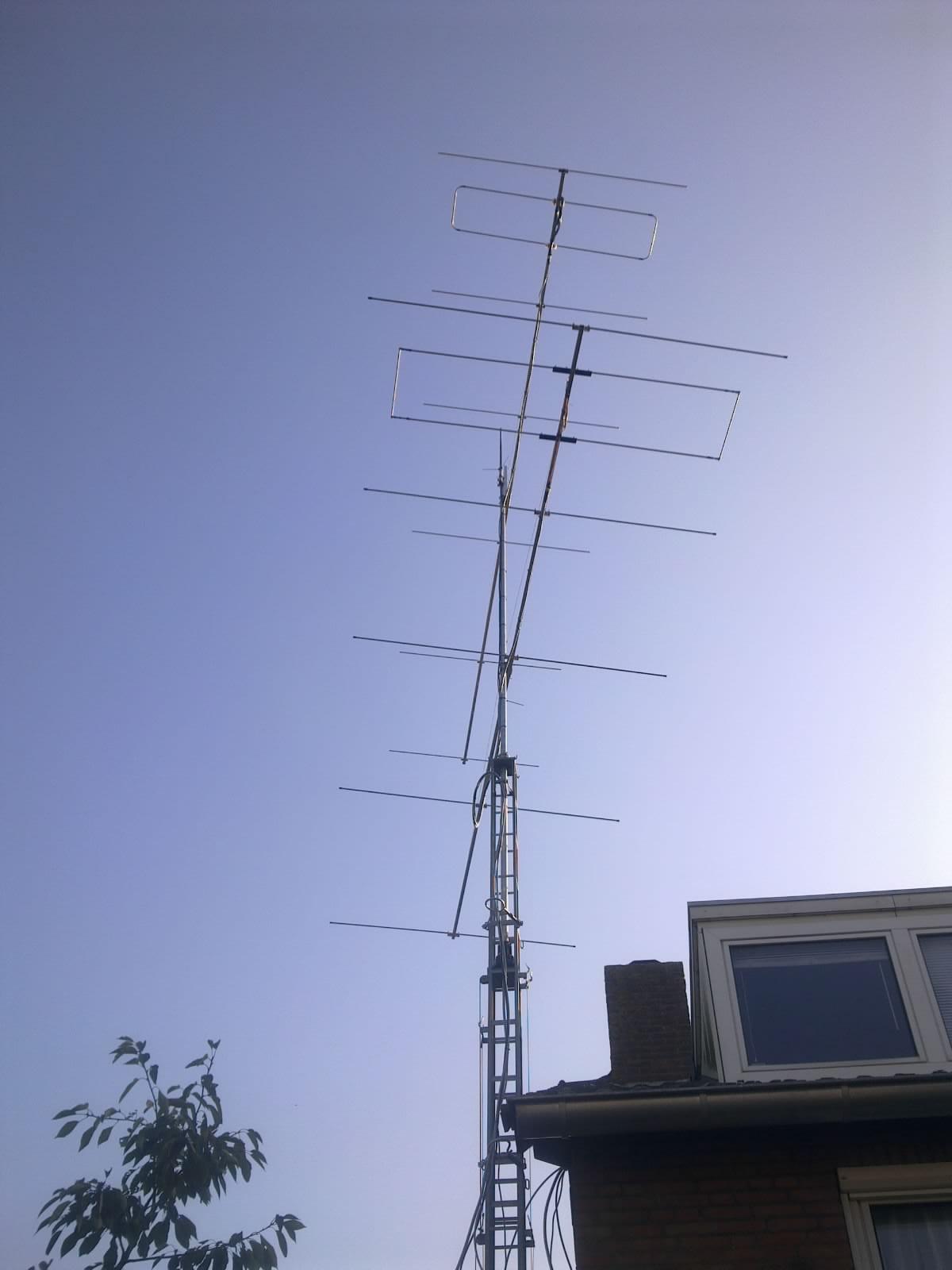 setup antennas